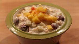 Kahvaltılık Yulaf Ezmesi Tarifi/ Meyveli Yulaf Ezmesi (Emziren Anneler İçin de Süper Kahvaltılık)