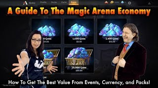 The Magic: The Gathering Arena Economy: How To Get The Best Value of Prize Support, Gems, Wildcards