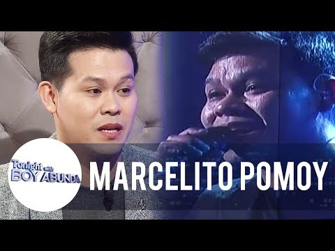 Marcelito Pomoy on rejecting America's Got Talent's first invitation to join the show | TWBA