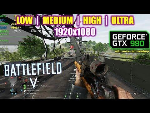 GTX 980 | Battlefield 5 / V - 1080p All Settings! |