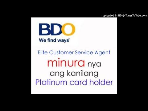 BDO Unibank (Banco de Oro) NagMURA sa customer (MAY-07-2015)