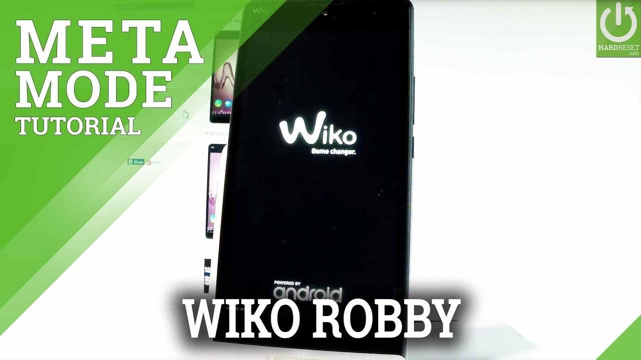 Meta Mode WIKO Robby – Enter / Quit Meta Mode