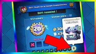 LE COFFRE LEGENDAIRE DU ROI DE MES RÊVES ??? // Clash Royale