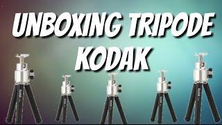 Unboxing Tripode Kodak (Tripode Para Celulares)