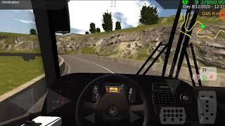La carretera más peligrosa y extrema de Heavy Bus Simulator.   parte 1 (subida) screenshot 3