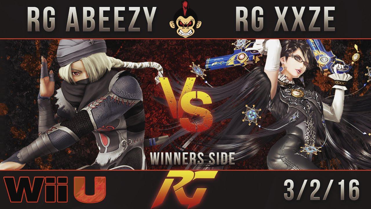 Download RG Smash Wii U Weeklies -  RG  Abeezy Vs. RG  XXZE