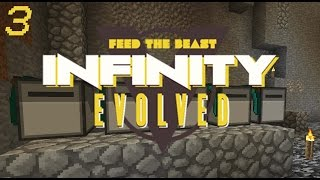 Minecraft: FTB Infinity Evolved - Ep.3 - Mining Turtle