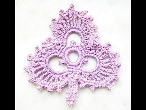 How To Crochet Leaf Clover Irish Crochet Free Tutorial Pattern Youtube