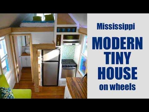 Mississippi'S New Modern Tiny House Builder! - Youtube