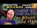 MASSIVE Bitcoin Sell Off!  What's Next for Bitcoin?  Breaking Market Update  Live Analysis Requests