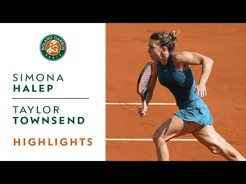 Simona Halep vs Taylor Townsend - Round 2 Highlights I Roland-Garros 2018