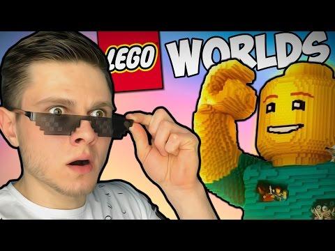 ЛЕГО МАЙНКРАФТ КАКОЙ ТО -||- Lego Worlds