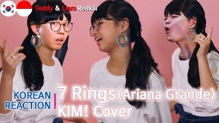 Download [IND SUB] Orang Korea Reaksi, Ariana Grande - 7 Rings (KIM! Cover), Korean Reaction Mp3