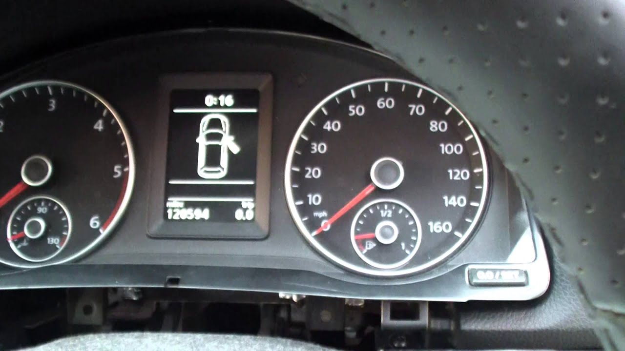 New Style Cluster fitted into 2007 Mk5 Golf with fully working Immobiliser