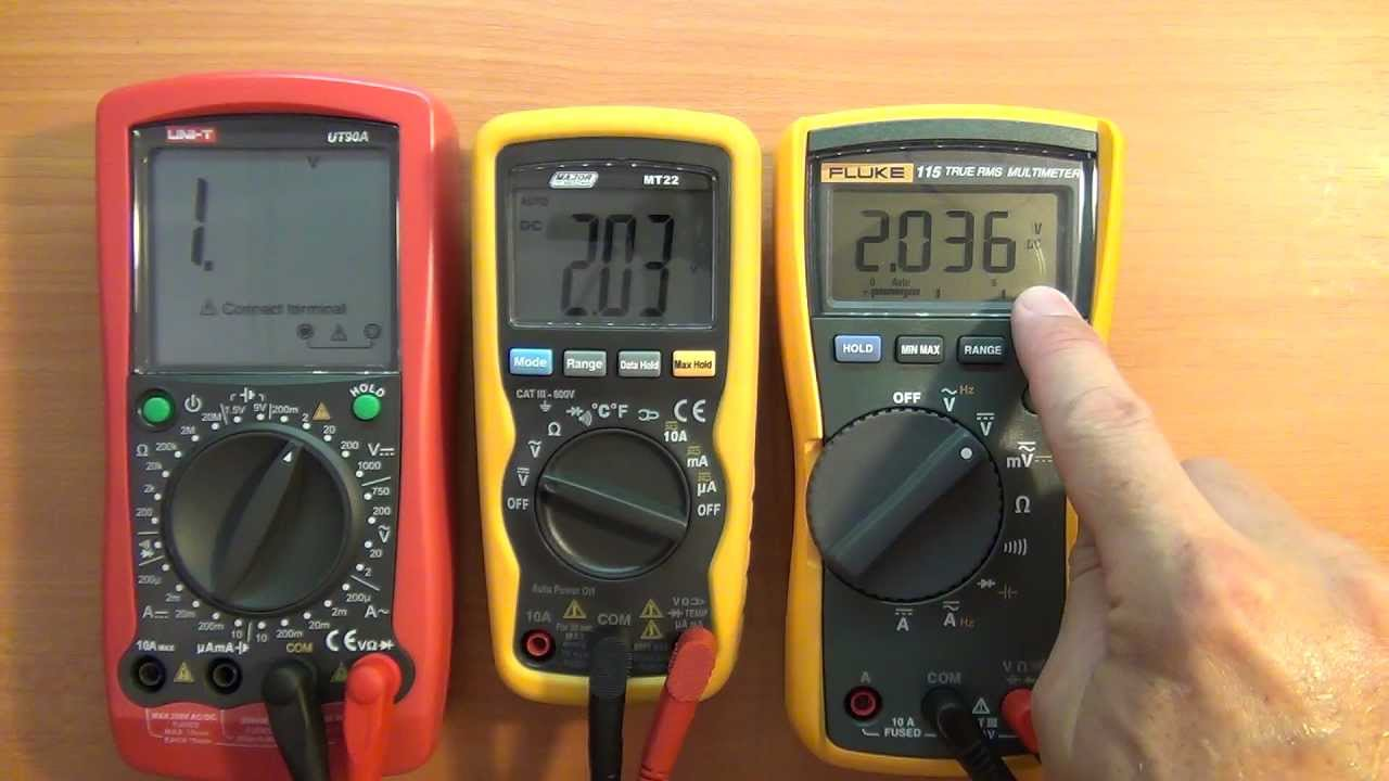 Multimeter review / buyers guide: Major Tech MT22 - YouTube