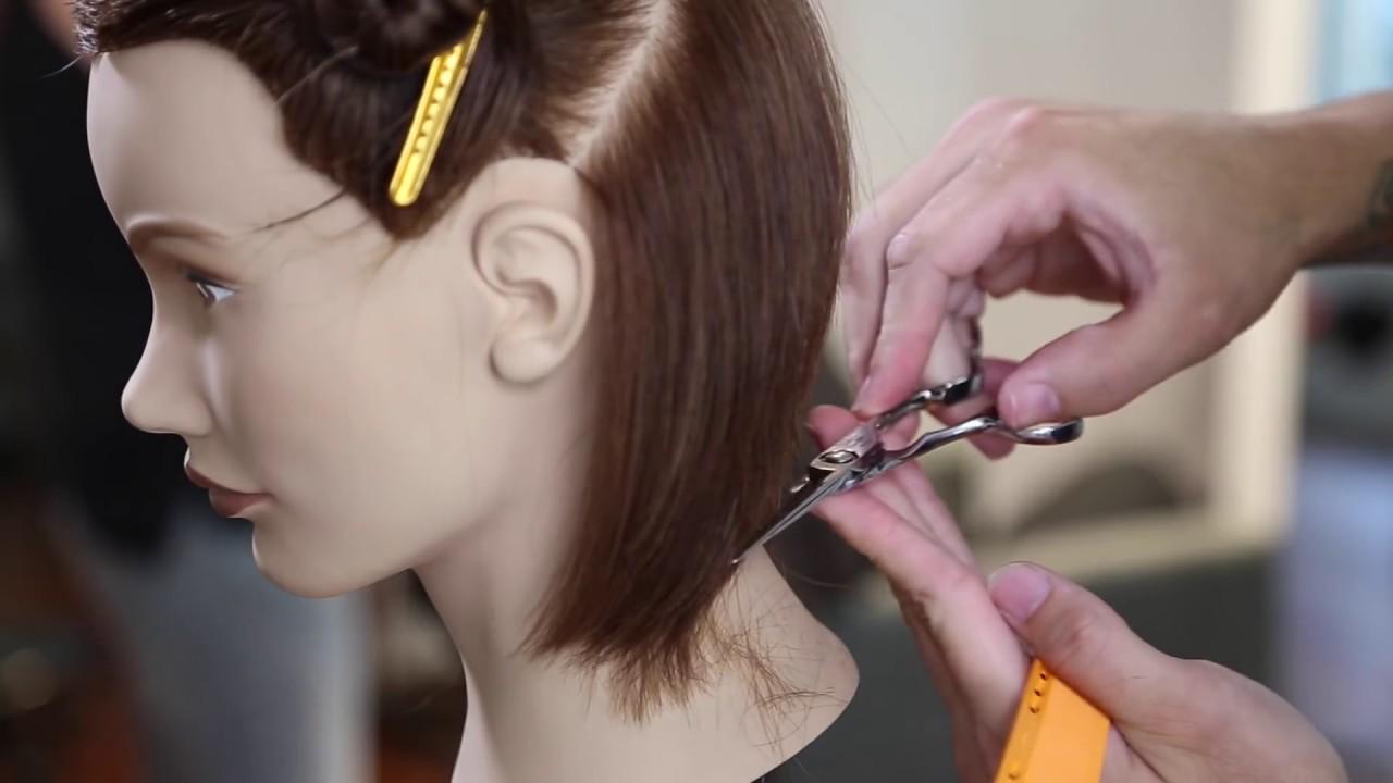 Disconnected Long Bob Haircut Tutorial How To Cut A Lob Haircut Matt