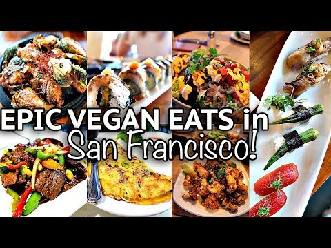WHAT I ATE IN SAN FRANCISCO pt.1 (Vegan Around The World #6)