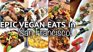 AMAZING VEGAN SUSHI // What I Ate in San Francisco (part 1)