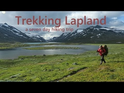 Trekking accross Storsteinsfjellet and swedish Lapland - 2017