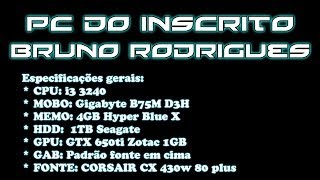 PC DO INSCRITO BRUNO RODRIGUES #6