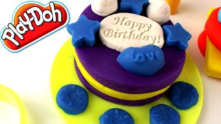 Play-doh 3d Birthday Cookies Playset Shaped Modeling Accessories Creative For Children
