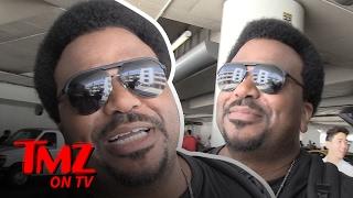Craig Robinson Can't Stop Sweating! (TMZ TV)