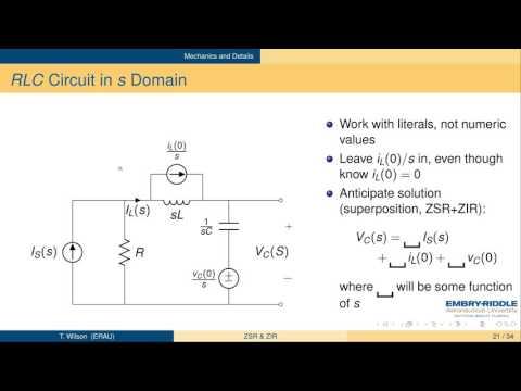 Module 2, Video 2: Zero-State Response and Zero-Input Response