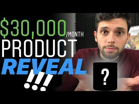 Revealing $30,000/Month Amazon FBA Product {Case Study - FBA Amazon 2019}