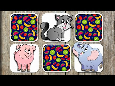 Animal Matching Game for Kids - App Gameplay Video