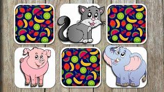 Animal Matching Game for Kids - App Gameplay Video