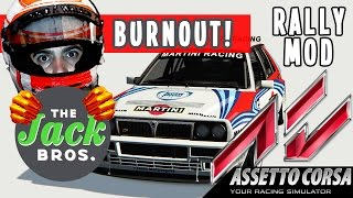 Assetto Corsa - Gameplay ITA - Rally di Montecarlo con la leggendaria Lancia Delta Integrale!
