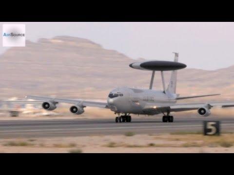 Boeing E-3 Sentry AWACS in Action