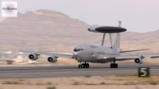 Boeing E-3 Sentry AWACS in Action