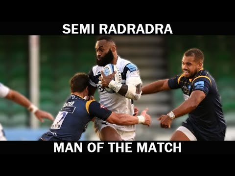 Semi Radradra vs Worcester Warriors | MAN OF THE MATCH