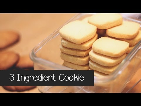 3 Ingredient Cookies In 3 Minutes