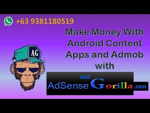 Make Money with Android Apps and AdMob