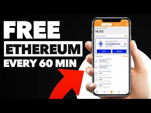 Get Free ETHEREUM Every 60 Minutes Without Investment!