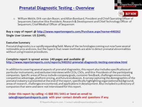 Prenatal Diagnostic Testing Market
