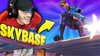 On TENTE une SKY BASE vs ZOMBIE | Fortnite Battle Royale | !sub | Code Souen #AD