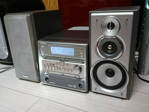 Victor DVD AUDIOコンポ UX-WD70