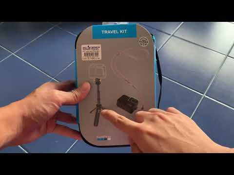 GoPro travel kit unboxing