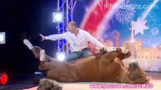 Australia's Got Talent 2011 - Double Dan Horsemanship