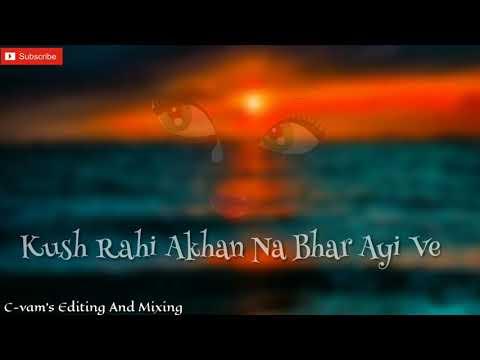 Royi Na Je Yaad Meri Aayi Ve Sad Whatsapp Status C-vam
