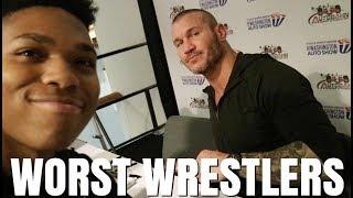 Top 5 Worst Wrestlers I've Ever Met (STORYTIME)