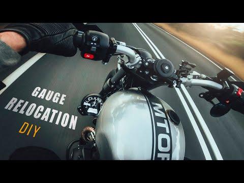 GAUGE RELOCATION Triumph Street Scrambler | Pro's & Con's