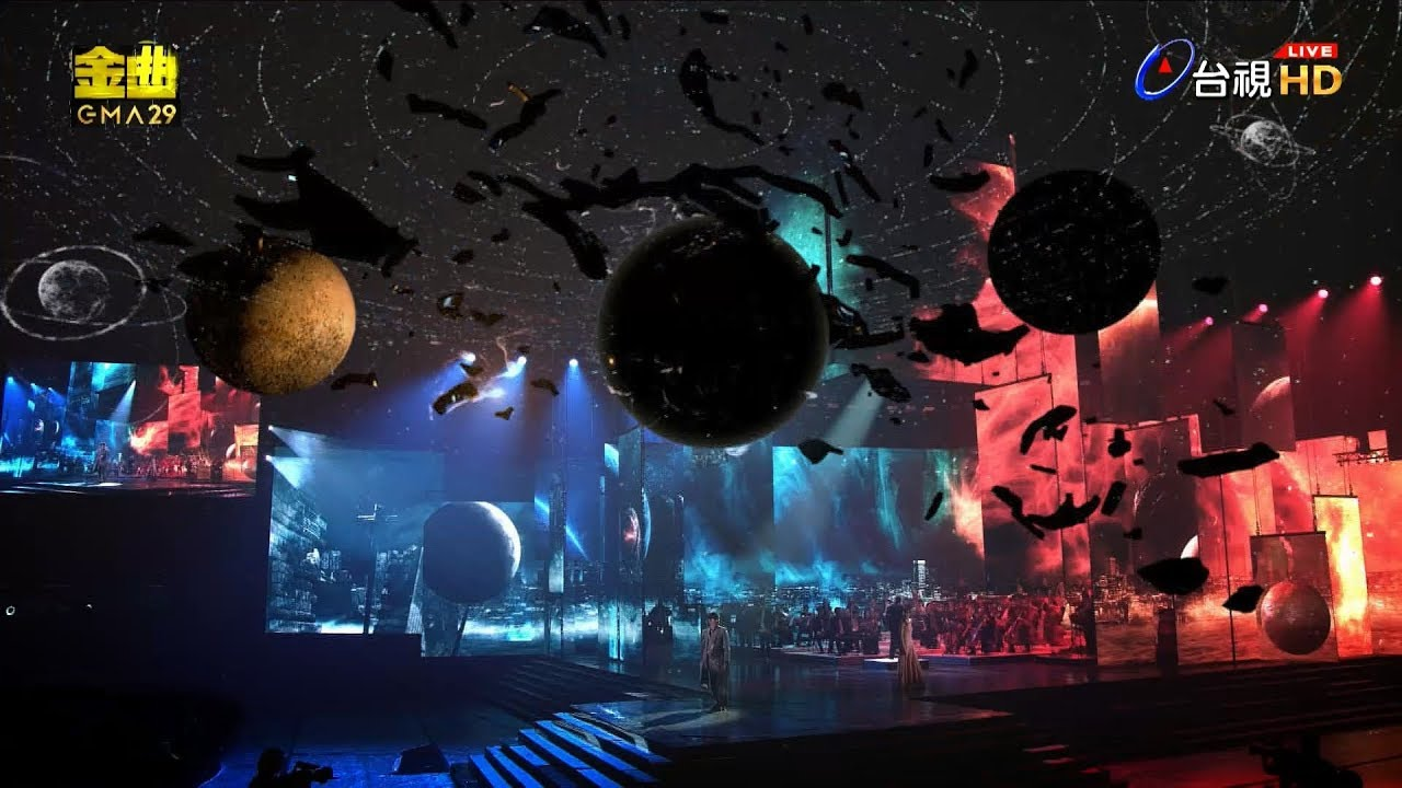 【AR擴增實境完整版】第29屆金曲獎頒獎典禮表演節目-林俊傑表演節目『Little Big Us』