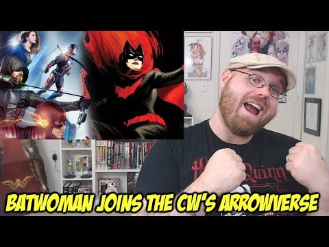 Batwoman comes to the CW!!!