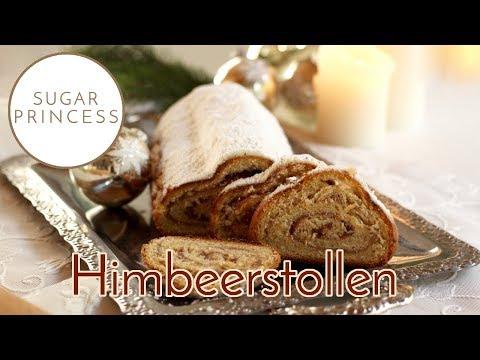 Christstollen mit Marzipan - einfaches Rezept für die Weihnachtsbäckerei   Sugarprincess
