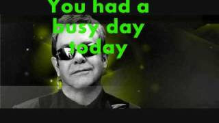 Elton John-Tiny Dancer (Lyrics and slideshow)