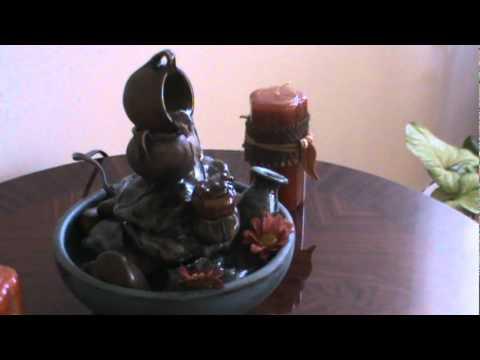Fuente de agua youtube for Aspersor de agua para jardin